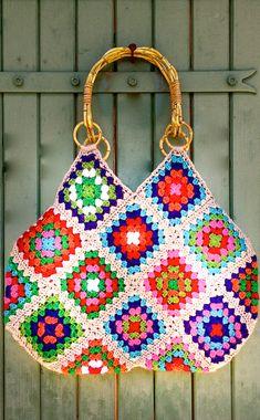 ✅ Modern and Granny Crochet Bag Pattern Ideas for 2020 Part 13 - Bags - Crochet Skirt Pattern, Crochet Motif, Crochet Designs, Crochet Patterns, Crochet Granny, Bag Pattern Free, Bag Patterns To Sew, Pattern Ideas, Crochet Handbags