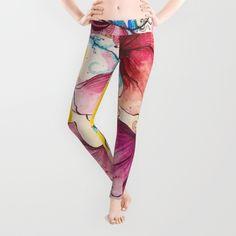 #leggings #yogaleggings #yogapants #workoutpants #society6 #colorful