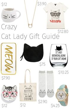 No idea what to buy a crazy cat lady for Christmas? Find inspiration with our cat lovers gift guide http://www.traveling-cats.com