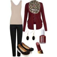 """""""Friday's Business Casual"""" by jameez on Polyvore"""