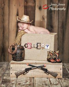 Newborn Photography/western/cowboy