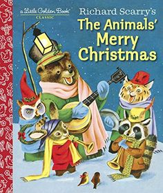 Richard Scarry's The Animals' Merry Christmas (Little Golden Book) by Kathryn Jackson http://www.amazon.com/dp/1101938420/ref=cm_sw_r_pi_dp_O237wb1NSFN3Z