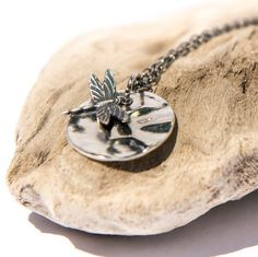 Silver Dragonfly Necklace, Sterling Silver, Jewelry for Mom, Gardener, Womens Jewelry, Handmade Necklace, Gift Idea for Her, $28 by lefrenchgem on Etsy