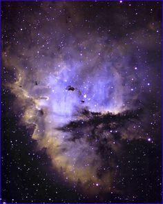 Narrow Band Pacman Nebula