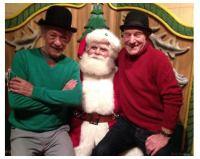 Photo of the day: Patrick Stewart, Ian McKellen and Santa