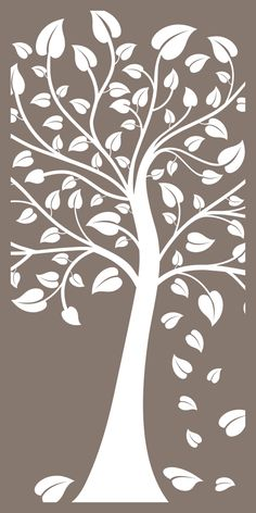 Wood carving patterns tree design 29 new ideas Wood Carving Patterns, Stencil Patterns, Wall Stickers Vector, Routeur Cnc, Lattice Screen, Cnc Cutting Design, Cut Out Art, Laser Cut Panels, Privacy Panels