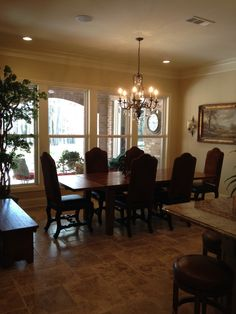 Madden Home Design   The Plantation   Dining Area