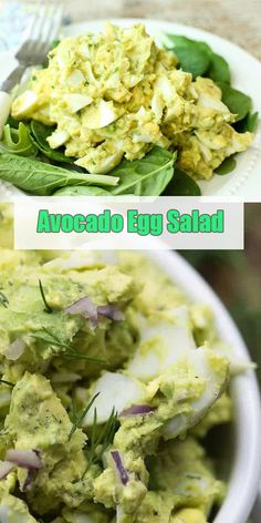 Avocado Egg Salad – Healthy Dieting Made Easy