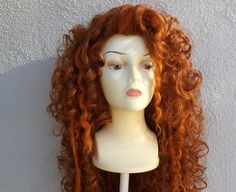Princess Merida Brave Adult Costume Wig  A True by littlepennylane, $600.00