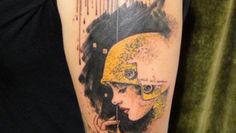 umbrella-flapper-girl-20s-tattoo