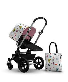 Bugaboo Cameleon 3 Andy Warhol Accessories Pack- Butterfly/Pink