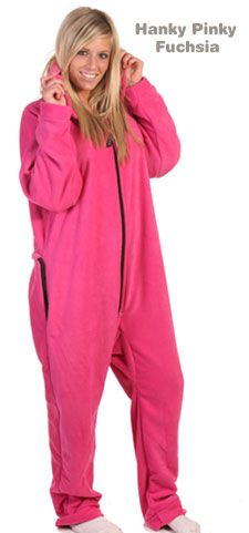 I think I need this...  Forever Lazy® - Adult Footed Pajamas, One-Piece Sleepwear, Onesies PJs