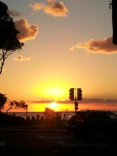 Leaving work Laguna Beach