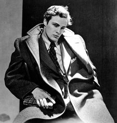 Marlon Brando ...sometimes I forget that these old timers were at one time the Brad Pitt's of their day.
