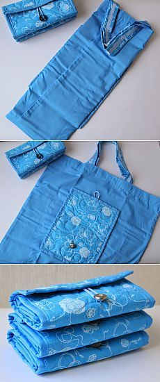 25 + › A cute bag made from denim! A cute bag made from denim! Bag Patterns To Sew, Sewing Patterns Free, Free Pattern, Patchwork Patterns, Crochet Patterns, Folding Shopping Bags, Lace Bag, Lace Dress, Diy Fashion Accessories