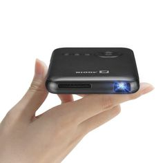 Aodin Mini Pocket Projector With Led Lamp, HDMI & Rechargeable Battery-Portable, Wireless Android Projector With Wifi & Bluetooth-Watch Movies Or TV, Play Video Games, Do Presentations & Mobile Projector, Phone Projector, Pico Projector, Cinema Projector, Portable Projector, Smallest Smartphone, Mirror Video, Android Video, Home Theatre
