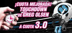 el forero jrvm y todos los bonos de deportes: wanabet superbowl cuota mejorada Touchdown Greg Ol...