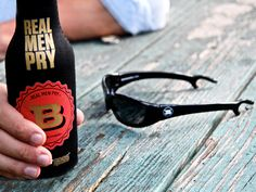 good gifts for guys: bottle opening sunglasses
