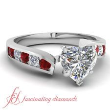 heart with rubies