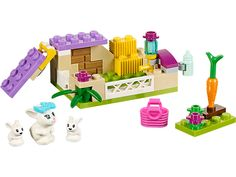 Lego Friends Bunny & Babies - in de kast