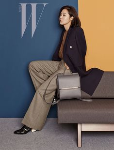 VINCIS' F/W 2015 Ad Campaign Feat. Gong Hyo Jin | Couch Kimchi