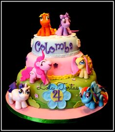 My Little Pony cake My Little Pony Cake, My Little Pony Birthday Party, Birthday Parties, Birthday Cake, Cake Designs, Desserts, Food, Cakes, Google