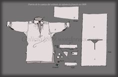 camisa 002 by susanna Mens Sewing Patterns, Coat Patterns, Vintage Patterns, Clothing Patterns, Boy Doll Clothes, Diy Clothes, 18th Century Costume, Armadura Medieval, 18th Century Clothing