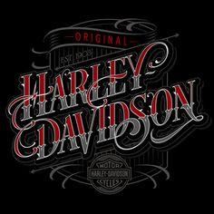 Harley Davidson Fonts 10 - 500 X 500