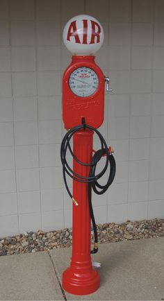 Doing a restoration on a vintage air meter? We have all the parts you need here at Gas Pump Heaven