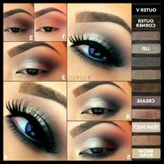 Naked 2 palette eyeshadow pictorial - Awesome Makeup