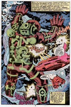 Jack Kirby Eternals Splash Pages - (4)
