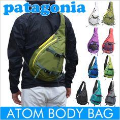 パタゴニア patagonia【アトム】斜め掛けワンショルダーボディバッグ