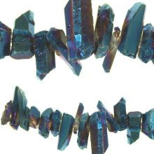 Bead Gallery Luster Stone Nuggets, Sapphire