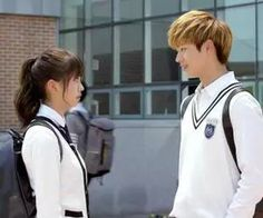 """Find and save images from the """"WHO ARE YOU : SCHOOL collection by ♕ Sɱяι†ι ♕ (itsnotriya) on We Heart It, your everyday app to get lost in what you love. K Drama, Watch Drama, Who Are You School 2015, Korean Tv Series, Sung Jae, Kim Sohyun, School 2017, Yook Sungjae, Joo Hyuk"""