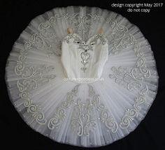 White Classical Ballet Tutu - Dance Competition RAD  Genee Challenge
