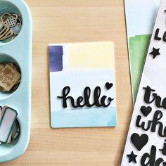Three Cards: Three Ways to Use Your Kit Supplies | Gossamer Blue » Blog | Bloglovin'
