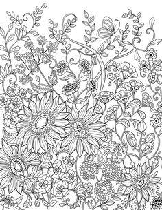 "A series of55 illustrations I made for the agenda ""52 semaines pour cultiver mon jardin intérieur"" (mon agenda a colorier), published by Rustica éditions (Paris)"