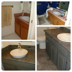how to paint wood furniture and wood laminate cabinets u2013 before and after photos