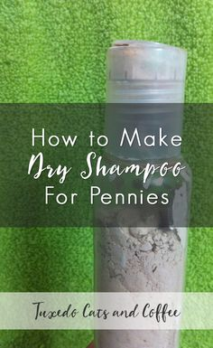 Especially in the summer months, hair can get limp and greasy after a few hours even if you wash it every day. Keep the greasies away with a homemade dry shampoo! Here's how to make dry shampoo for pennies.