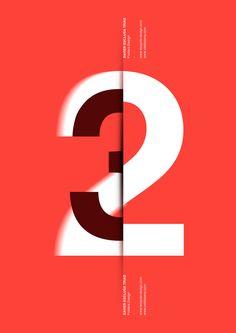 typographic poster design Poster by Xavier Esclusa Trias / Design on Behance Illustration Simple, Illustration Design Graphique, Art Graphique, Behance Illustration, Creative Advertising, Advertising Poster, Type Posters, Graphic Design Posters, Graphic Design Typography