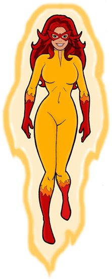 Firestar, the original; Highlight of a Saturday morning cartoon-a-thon was Spiderman & his Amazing Friends. I can't for the life of me remember who the other friend was though... I remember ice was involved however.