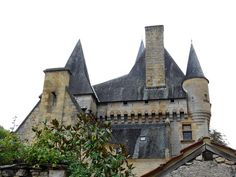 St-Léon sur Vézère (Dordogne) - Château de Clérans - XII-XIII et XIVème