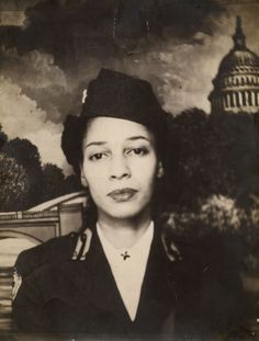 Jean M. Bright (b. 1915) served with the American Red Cross in New Guinea and Japan from 1944 to 1946. After the war, Jean earned a masters degree in English from Columbia University and taught at North Carolina A&T State University until 1978. Photo viaJackson Library, The University of North Carolina at Greensboro.
