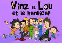 vidéos de la série Vinz et Lou de 2 min sur le handicap.