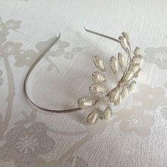 Blossom Side Tiara - Side Tiara - Bridal Tiara - Handmade Wedding on Etsy, £35.00