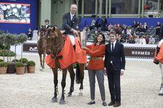 Patrice Delaveau en dos fases gana el Prix de la Ville de Paris.