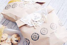 Team Mitglied @ms_trudy hat heute eine tolle Verpackungsidee für weihnachtliche Kekse & Gebäck jetzt aufm #papierprojekt Blog.