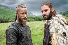 Ragnar and Rollo - back in February 2015
