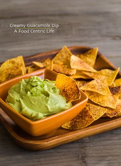 Quick and creamy guacamole dip. A nice, healthy snack. Also good along side grilled flank steak and grilled chicken. Tuck it into tacos too.