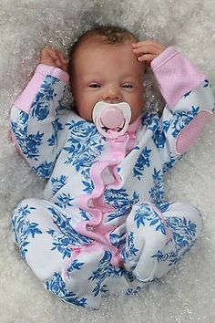 REBORN PREEMIE BABY GIRL (RUBY BLICK SCULPT) BY VAHNI GOWING in Dolls & Bears | eBay